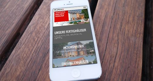 Mobile Website ProHaus